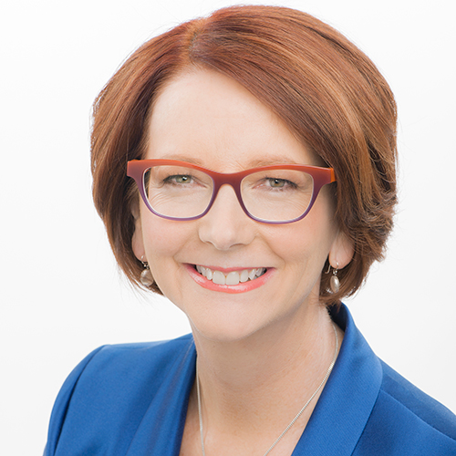 The Hon Julia Gillard AC